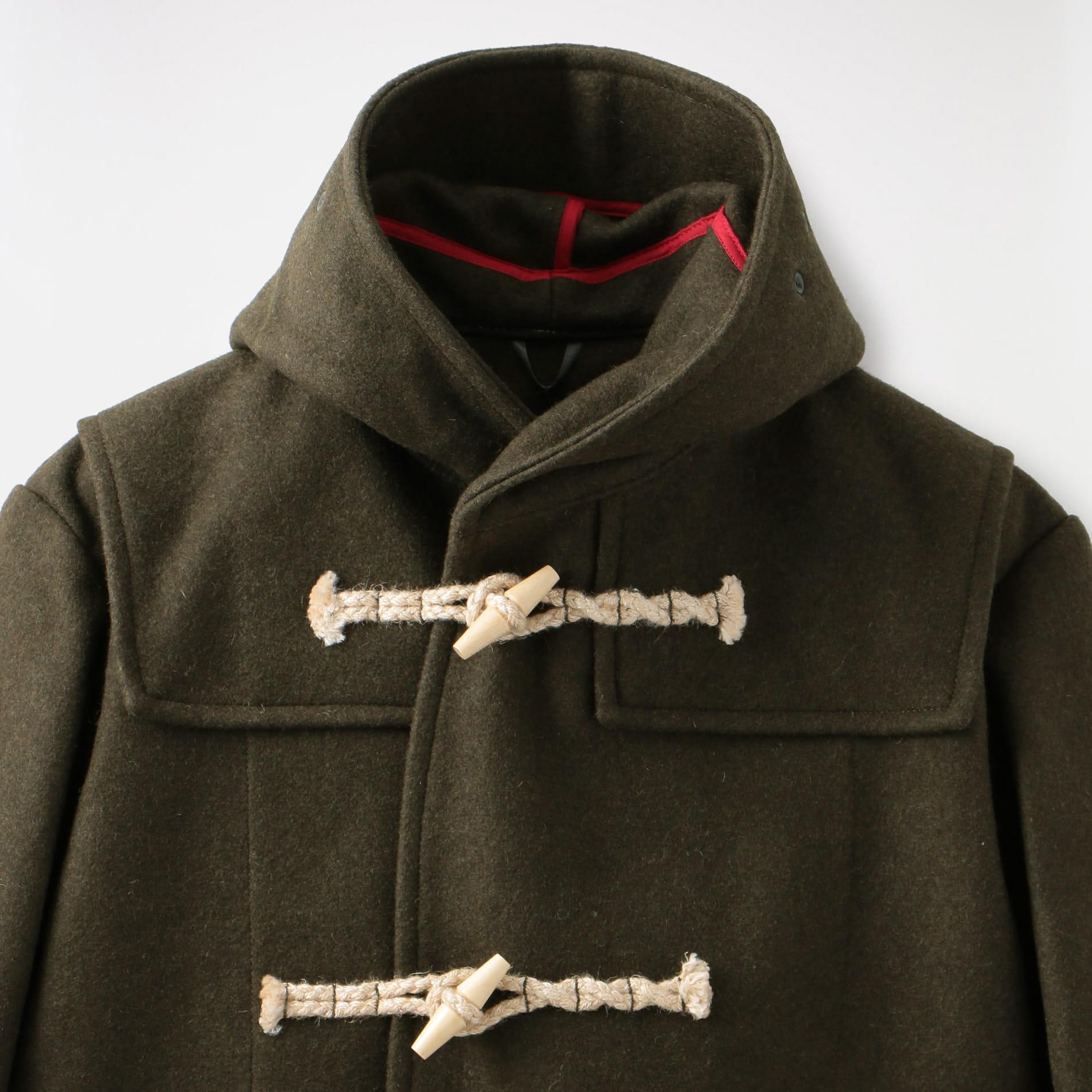 【karrimor aspire】MEN wool melton duffle coat 4J13MAI1