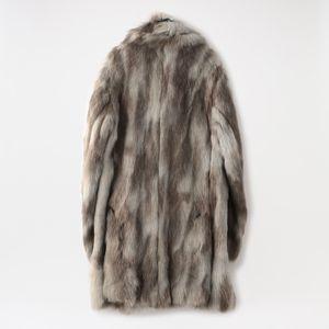 【Needles】MEN Pea Coat - Acrylic Fur HM075
