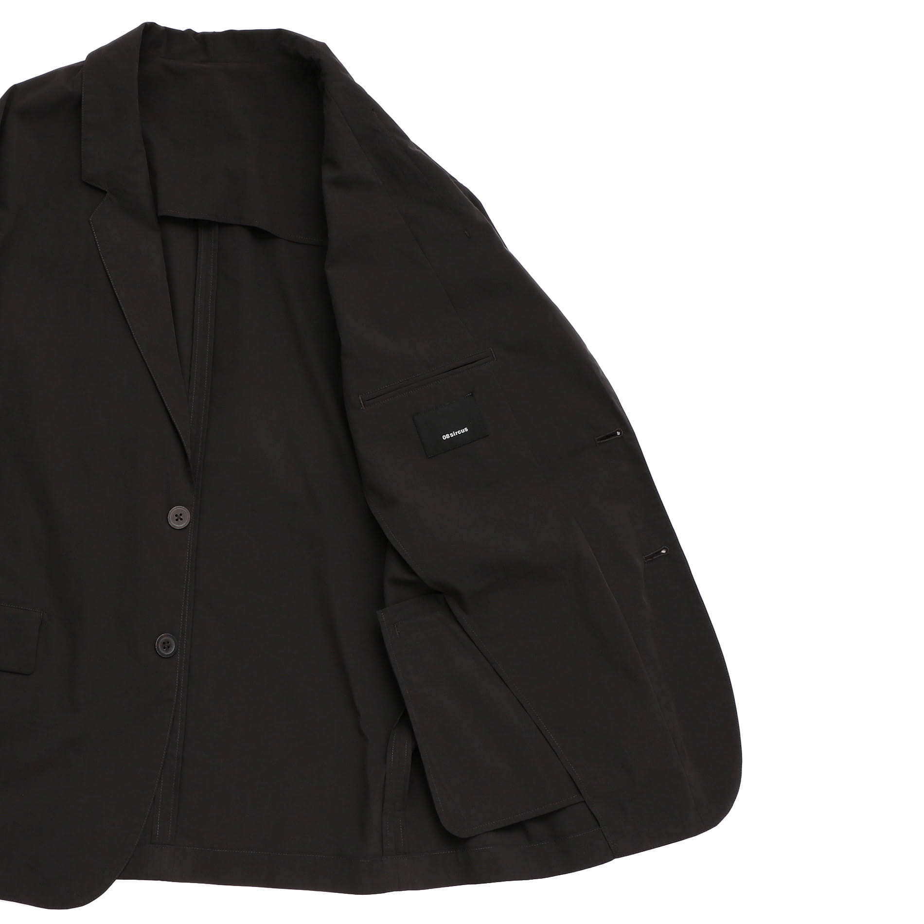 【08sircus】MEN ストレッチジャケット S19SM-JK02