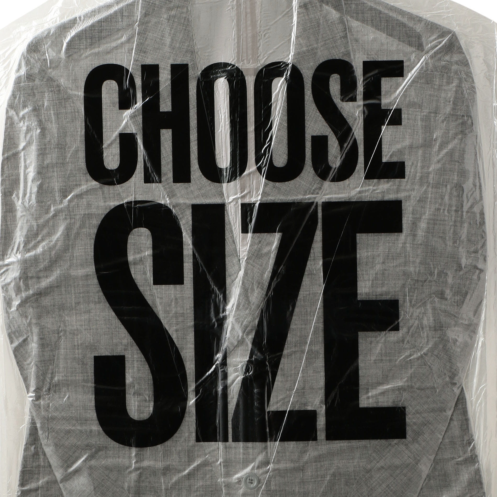【doublet】MEN 2D PACKAGED 3D CUTTING JACKET SAYS SLOGAN