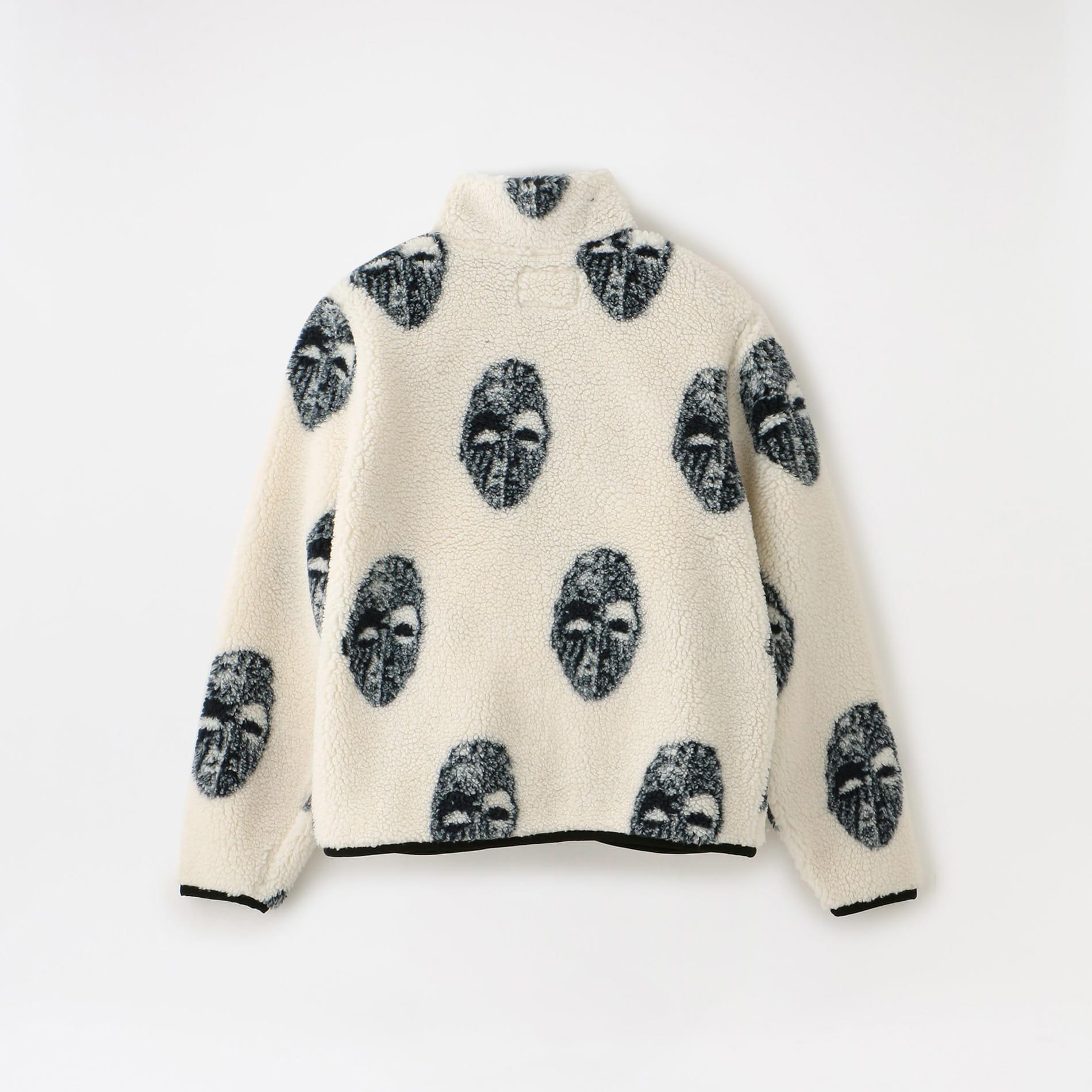 【Stussy】MEN Mask Jacquard Sherpa 118389