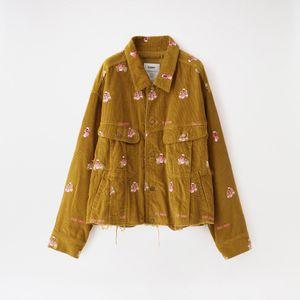 【doublet】MEN ジャケット VIETNAM EMBROIDERY COURDUROY JACKET 20AW15BL107