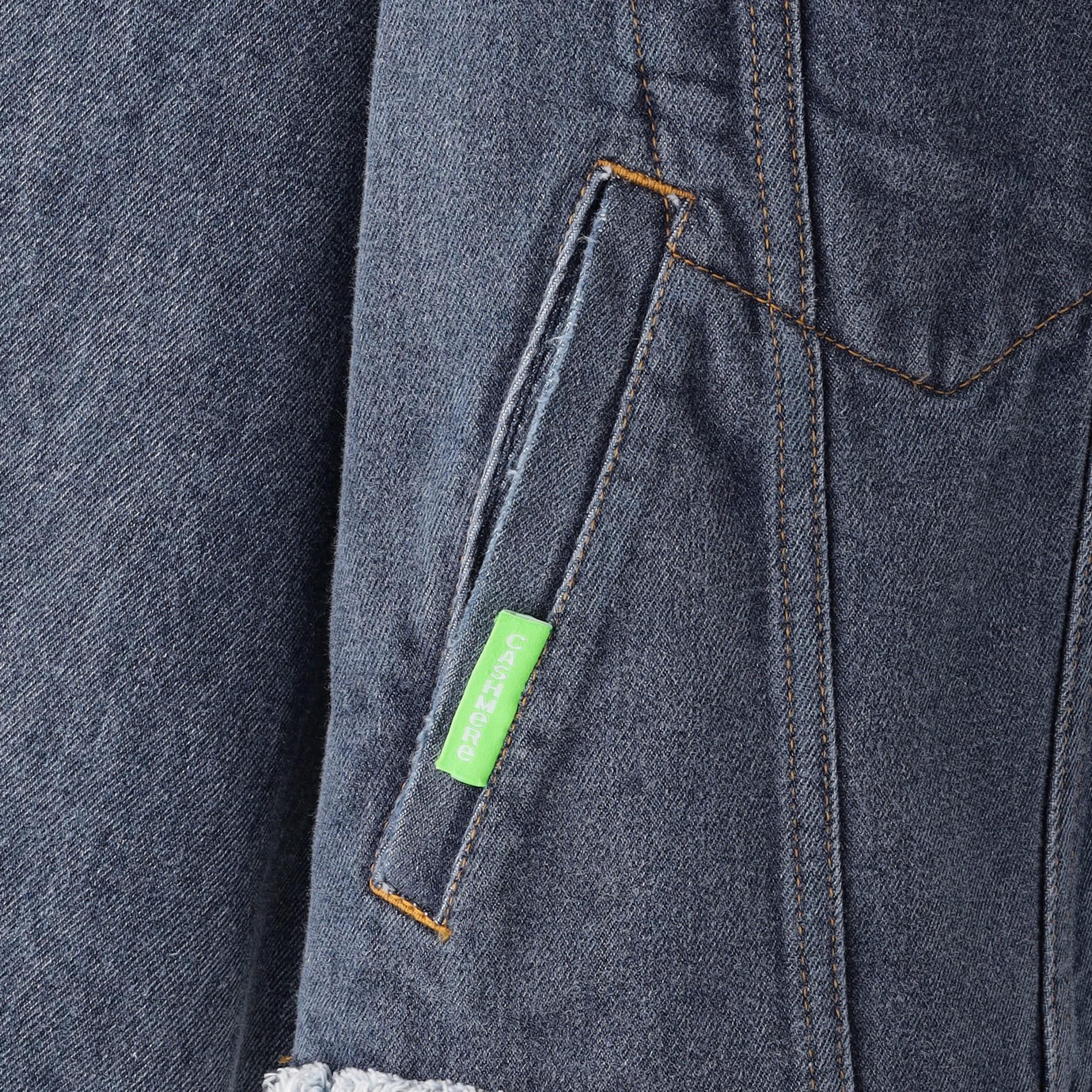【doublet】MEN ジャケット UPCYCLE ORIGINAL DENIM PATCHWORK JACKET 21AW12BL126