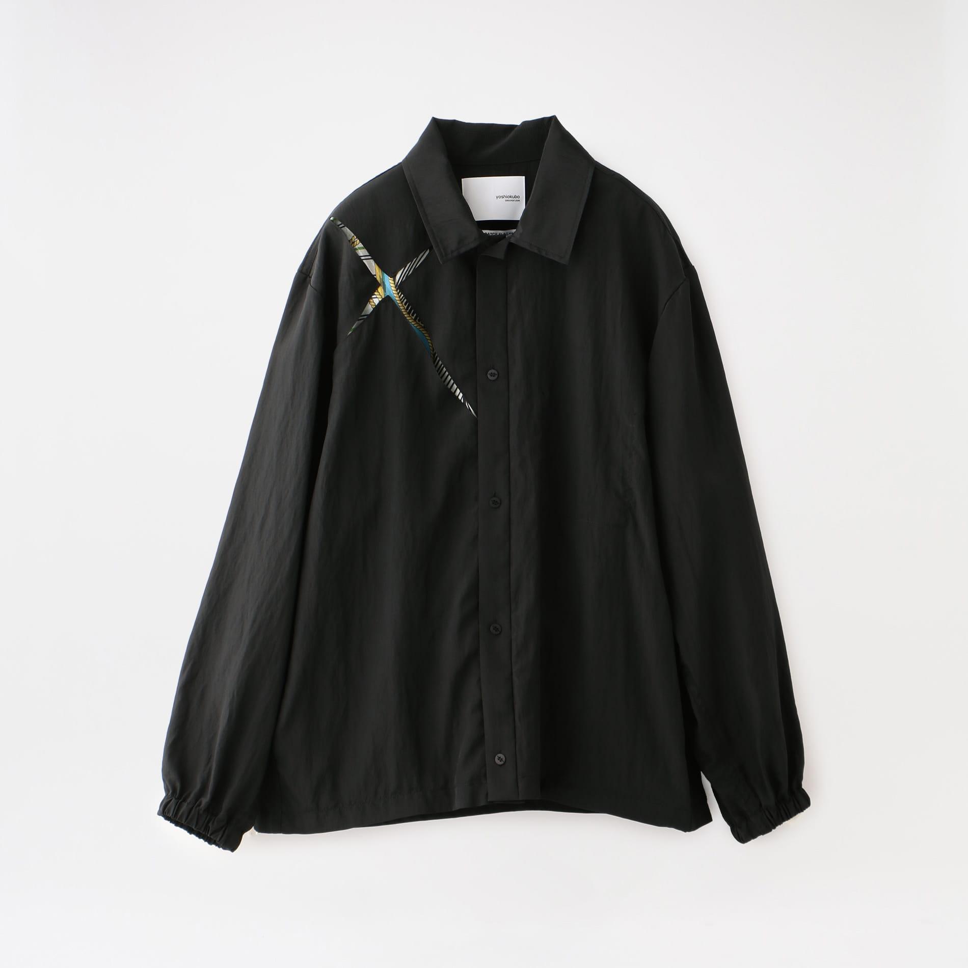 【yoshiokubo GROUNDFLOOR】MEN SLASH SHIRTS BLOUSON YKS20501