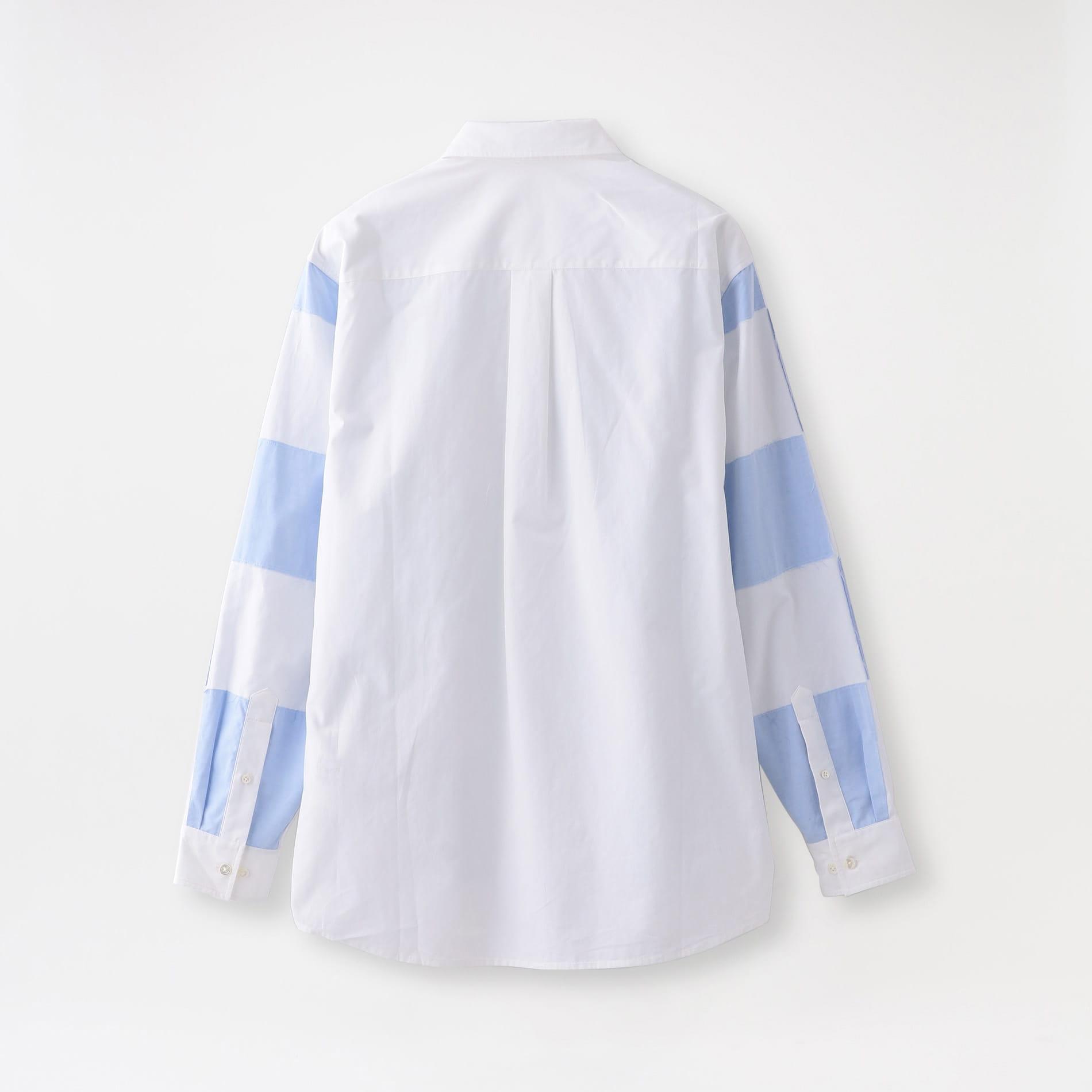 【JW ANDERSON】MEN シャツ CHECKERBOARD APPLIQUE SHIRT SH0077-PG0481