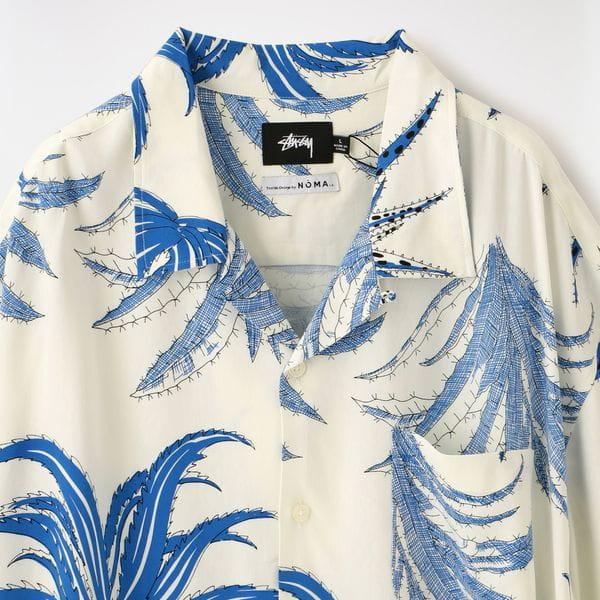 【Stussy×NOMA t.d.】MEN Cactus Rayon Shirt 1110112
