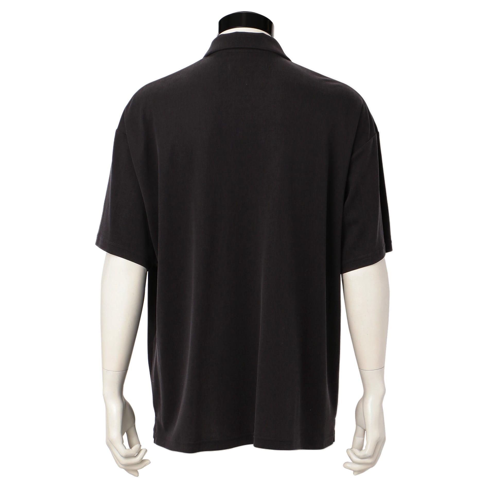 〈タイムセール〉【08sircus】MEN オープンカラーシャツ S19SM-CS08