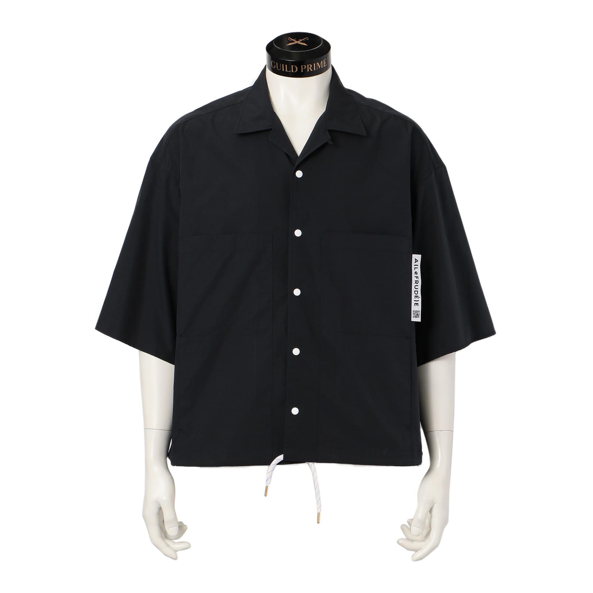 【A(LeFRUDE)E】MEN 半袖オープンカラーシャツ