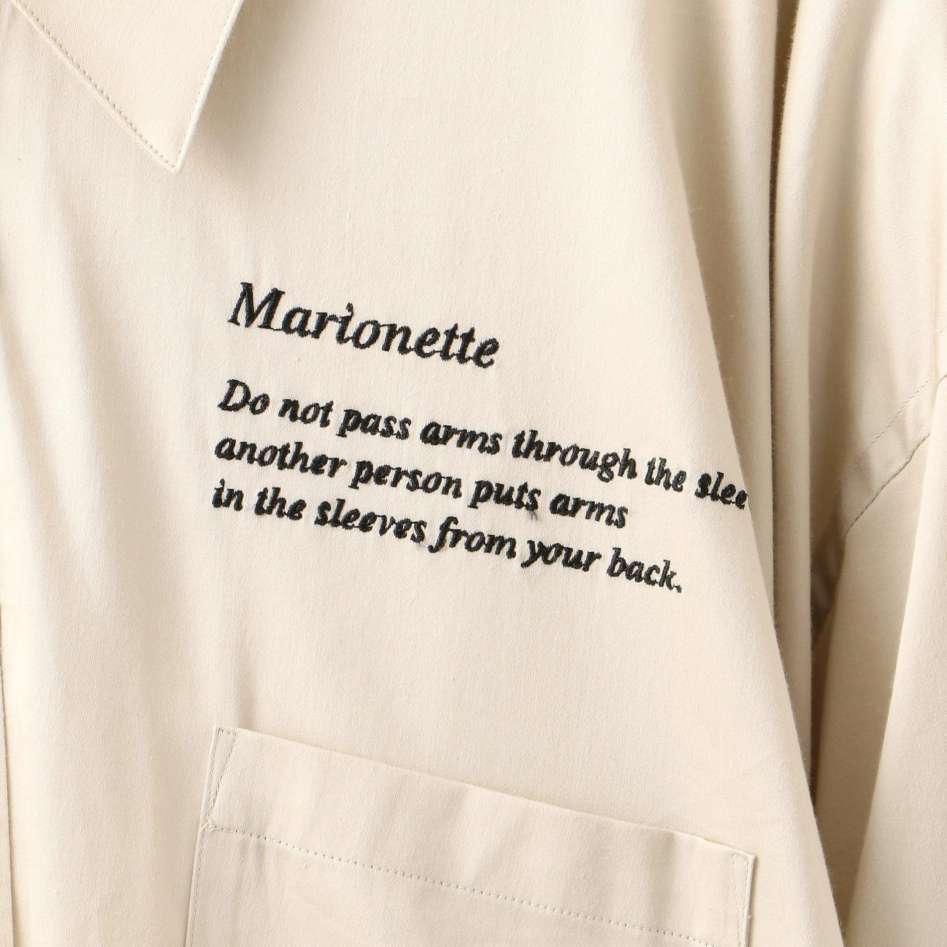 【doublet】MEN MARIONETTE SHIRT 20SS14SH70