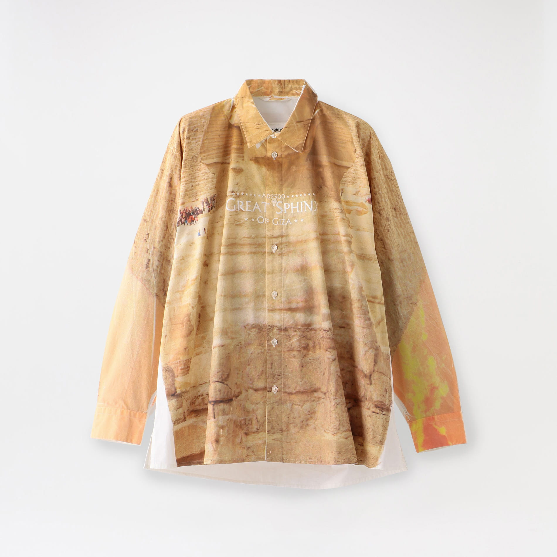【doublet】MEN FACEOUT TOURIST SHIRT 20SS19SH71