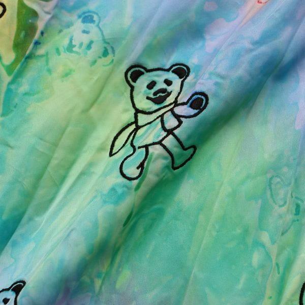 【doublet】MEN シャツ BEAR EMBROIDERY TYE-DYEING SHIRT 20AW16SH87