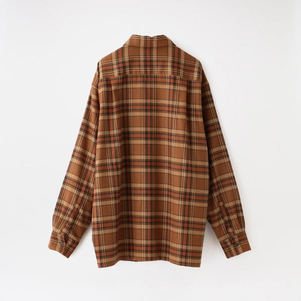 【doublet】MEN シャツ PUPPET ANIMAL EMBROIDERY CHECK SHIRT 20AW25SH85