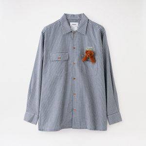 【doublet】MEN CHECK SHIRT WITH MY FRIEND 21SS15SH91