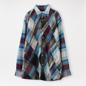 【NOMA t.d.】MEN シャツ N Ombre Plaid Diamond Shirt ID 03