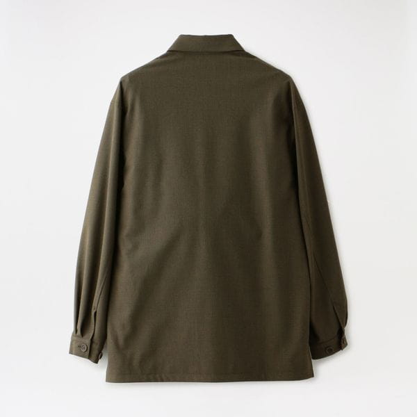 【FACTOTUM】MEN Microcheck British Army Safari Jacket 1020340