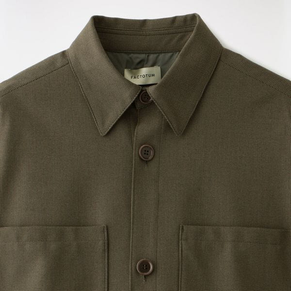 【FACTOTUM】MEN Microcheck British Army Safari Jacket 1020340