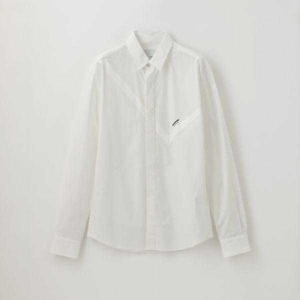 【yoshiokubo GROUNDFLOOR】MEN ソリッドバンダナシャツ YKS19210