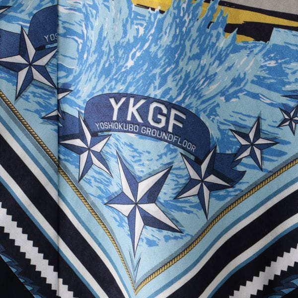 【yoshiokubo GROUNDFLOOR】MEN SHIP BANDANA  L/S SHIRTS YKS20204