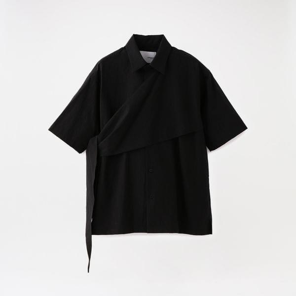 【yoshiokubo GROUNDFLOOR】MEN RIPPLE SAILOR SHIRTS YKS20208