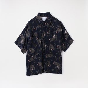 【yoshiokubo GROUNDFLOOR】MEN シャツ S/S SHT PHOENIX YKS21209