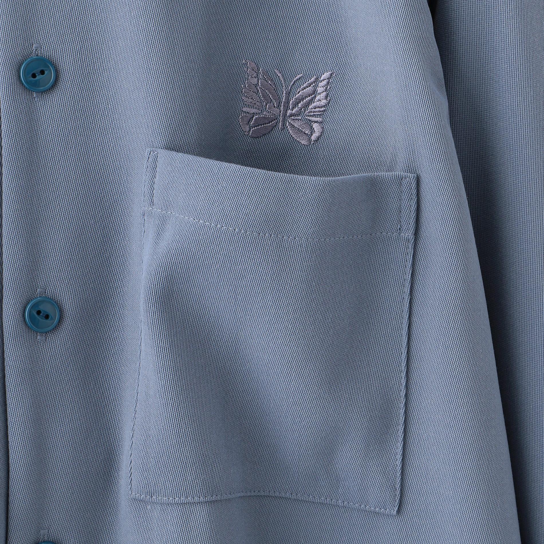 【Needles】MEN C.O.B. One-Up Shirt - Pe/W Doeskin HM158