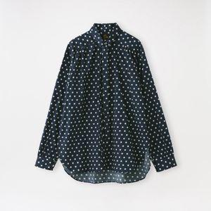 【Needles】MEN シャツ Ascot Collar EDW Shirt - Cotton Sateen / Pt. JO197