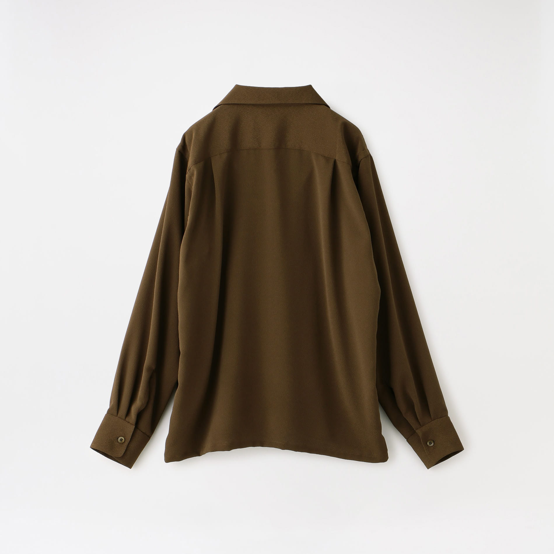 【South2 West8】MEN One-up Shirt - Poly Crepe Cloth GL805