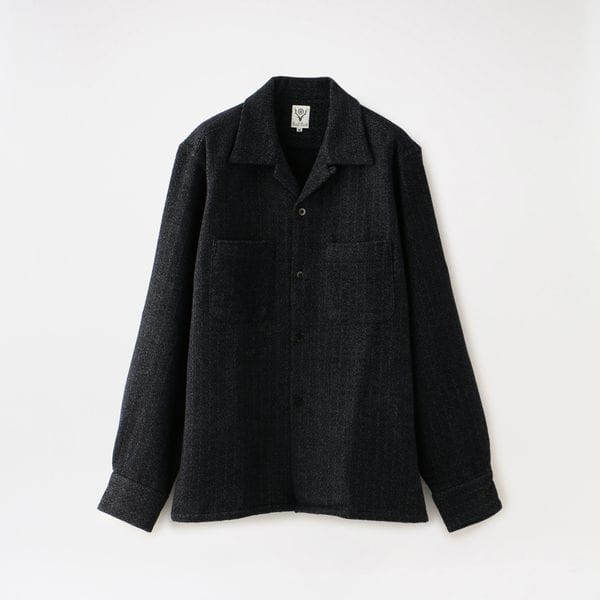 【South2 West8】MEN One-up Shirt - C/W Mole Cloth HM835