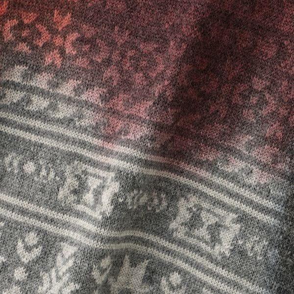 【NOMA t.d.】MEN Painting Jacquard Sweater KN01