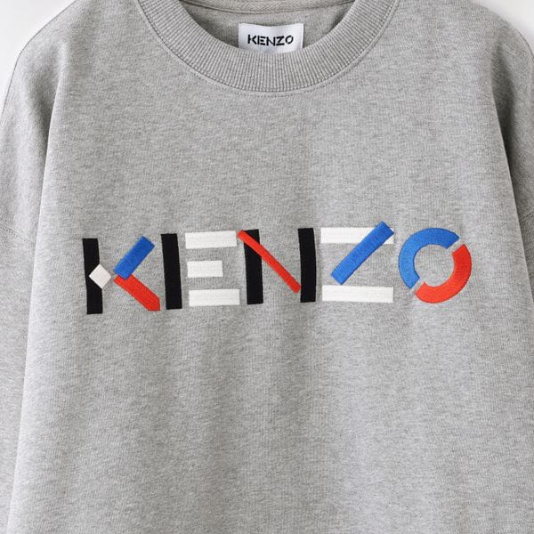 【KENZO】MEN スウェット KENZO LOGO MULTICO OVERSIZE SW FB55SW5234MO