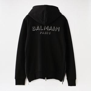 【BALMAIN】MEN 3D BALMAIN SWEATER TH03643.I320