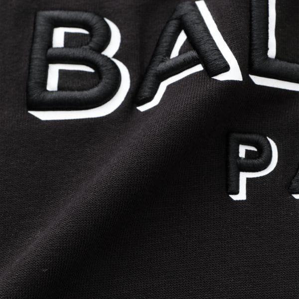 【BALMAIN】MEN 3D BALMAIN TS RAW EDGE TH01252.I314