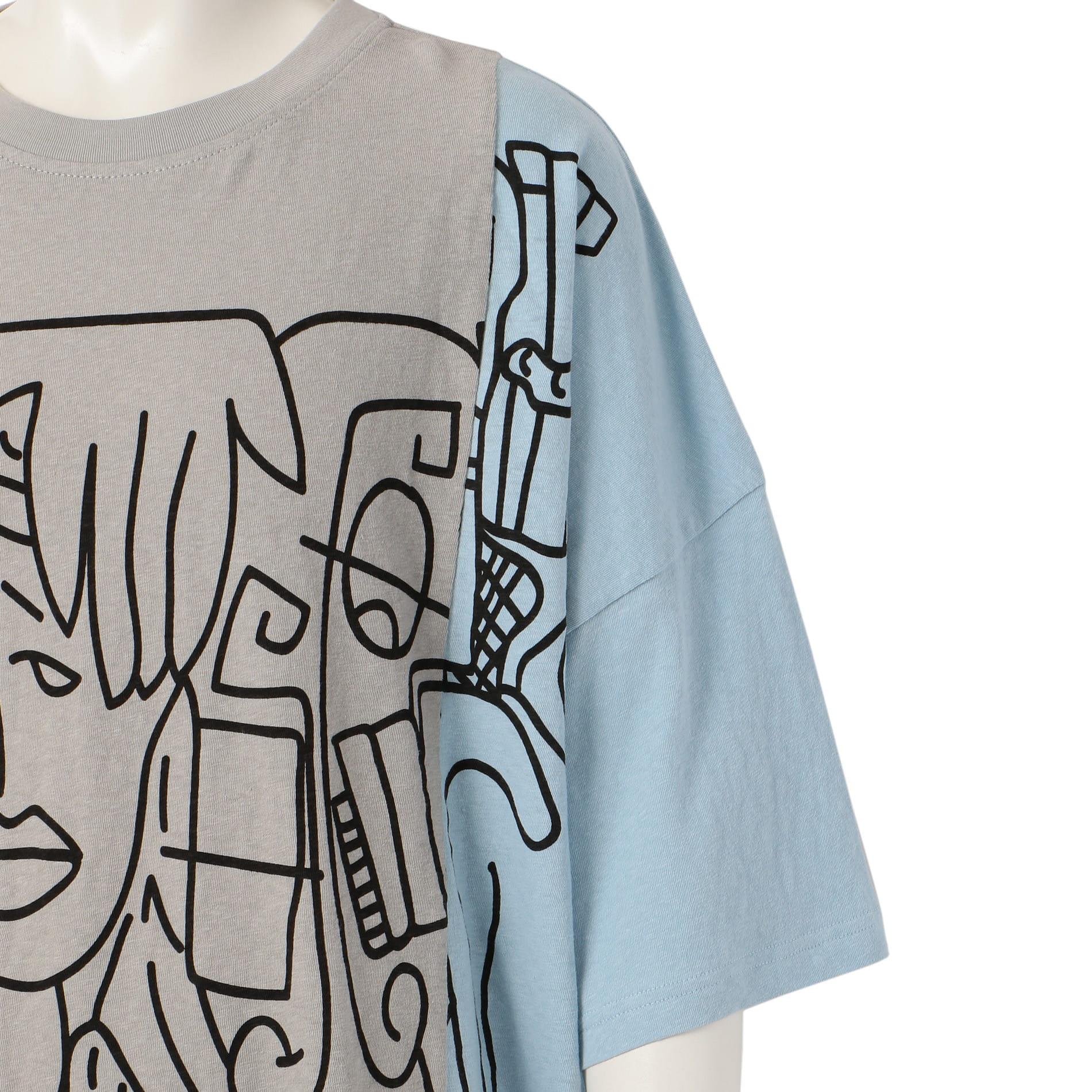【HACULLA】MEN Tシャツ HA02AI-K33