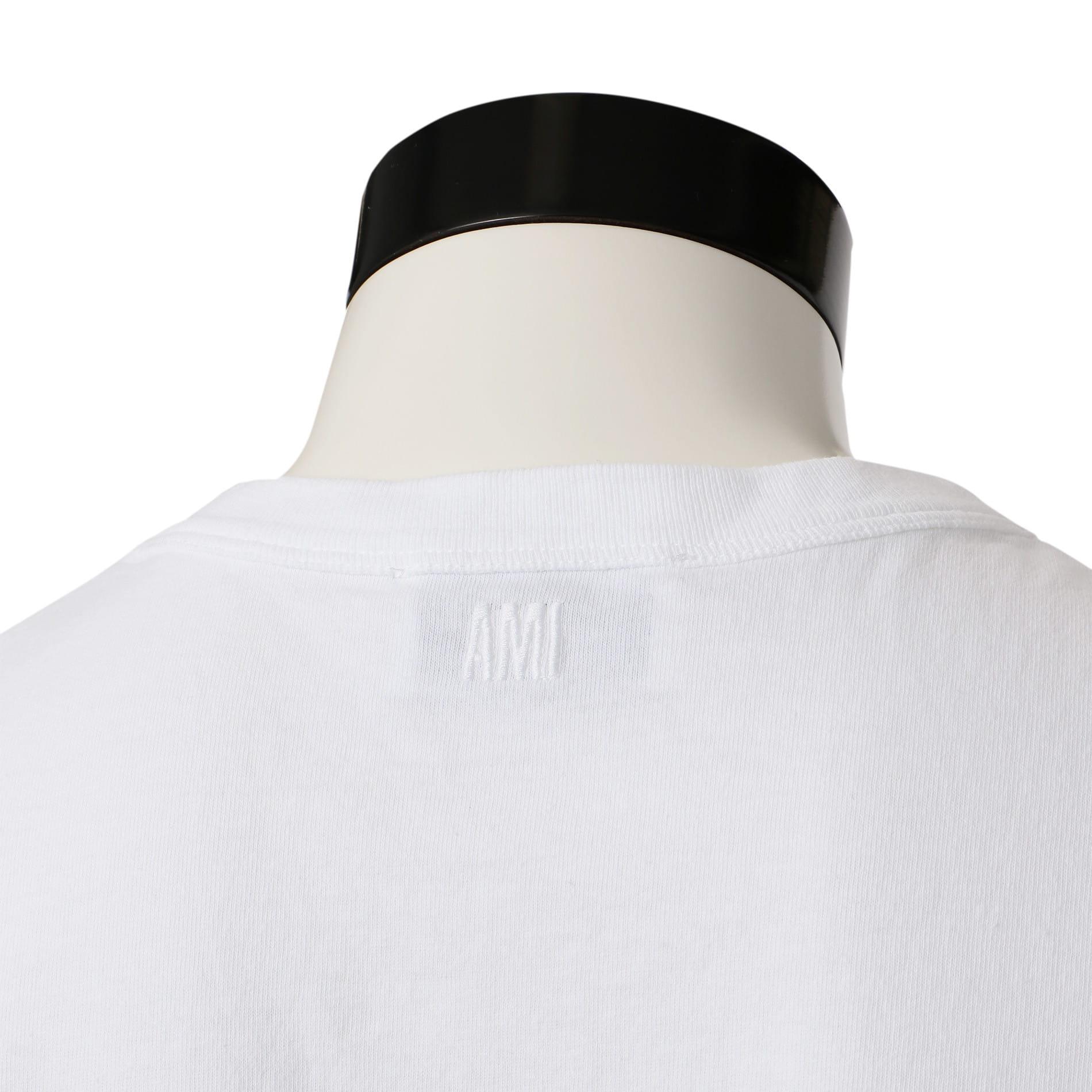【ami alexandre mattiussi】MEN クルーネックTシャツ E19J108.722