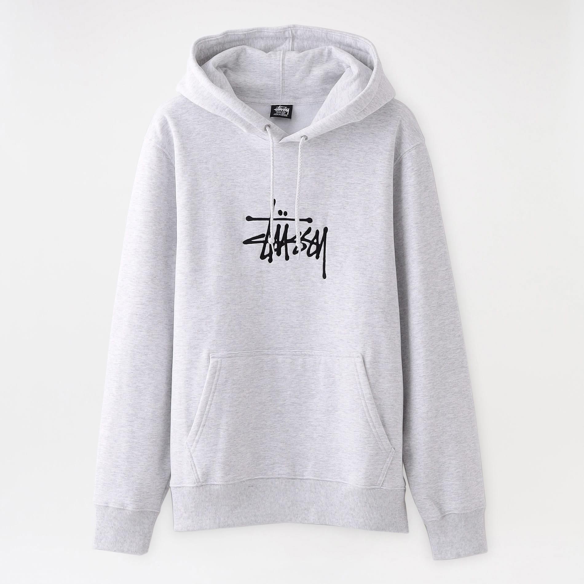 【Stussy】MEN パーカー Basic Stussy App Hood 118425