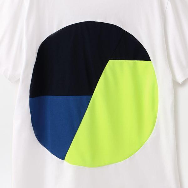 【ALOYE】MEN Color Blocks Short Sleeve T-shirt AY05748