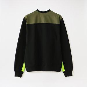 【ALOYE】MEN Color Blocks - Sweatshirt AY05781