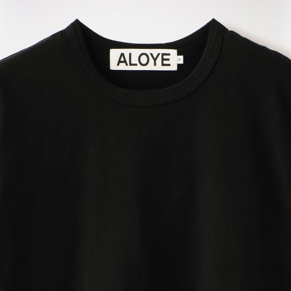 【ALOYE】MEN Shirt Fabrics - Short Sleeve T-shirt AY05783
