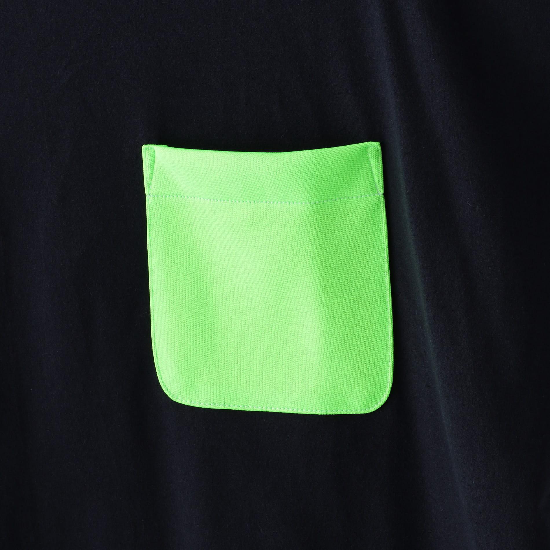 【ALOYE】MEN Tシャツ Color Blocks - Short Sleeve Big Fit T-shirt AY05904