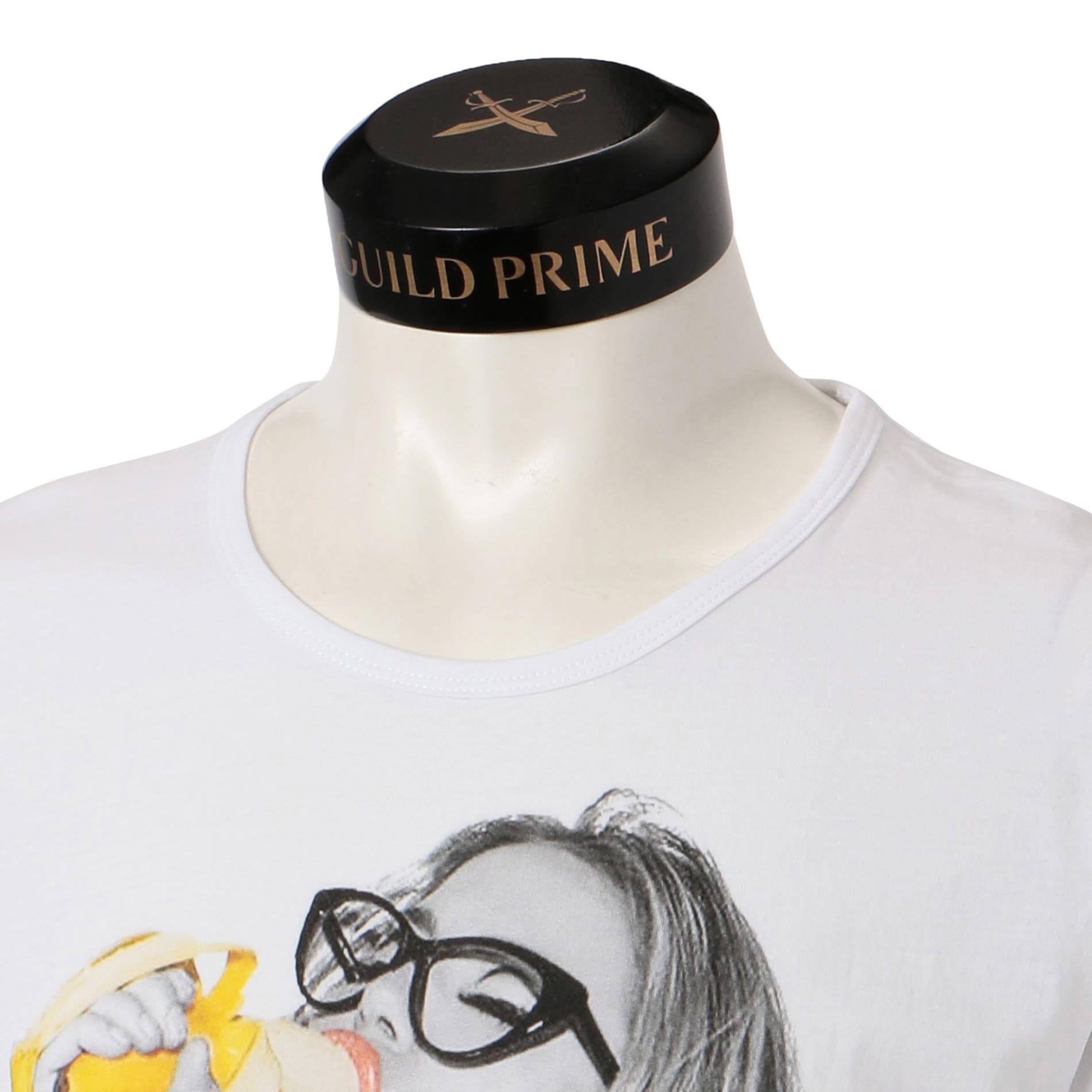 【NO COMMENT PARIS】MEN Tシャツ -hipster banana moon-
