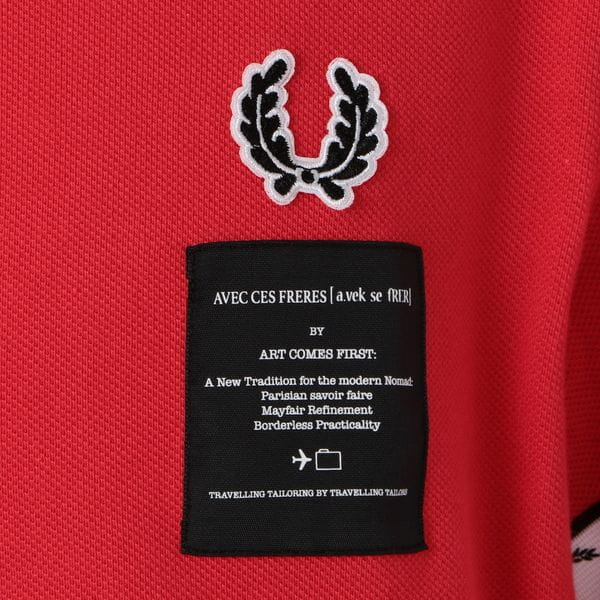 【FRED PERRY×ART COMES FIRST】MEN ポロシャツ SM5121
