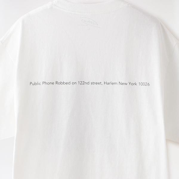 【Filphies】MEN TシャツPublic Phone Robbed on 122nd street Harlem New York 10026FP0