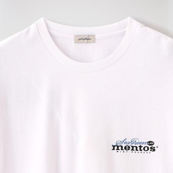 【Seagreen×mentos】MEN Tシャツ MSG20S8177