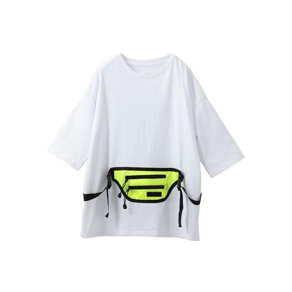 〈タイムセール〉【SUPERTHANKS】MEN ビッグTシャツ ST192CS002