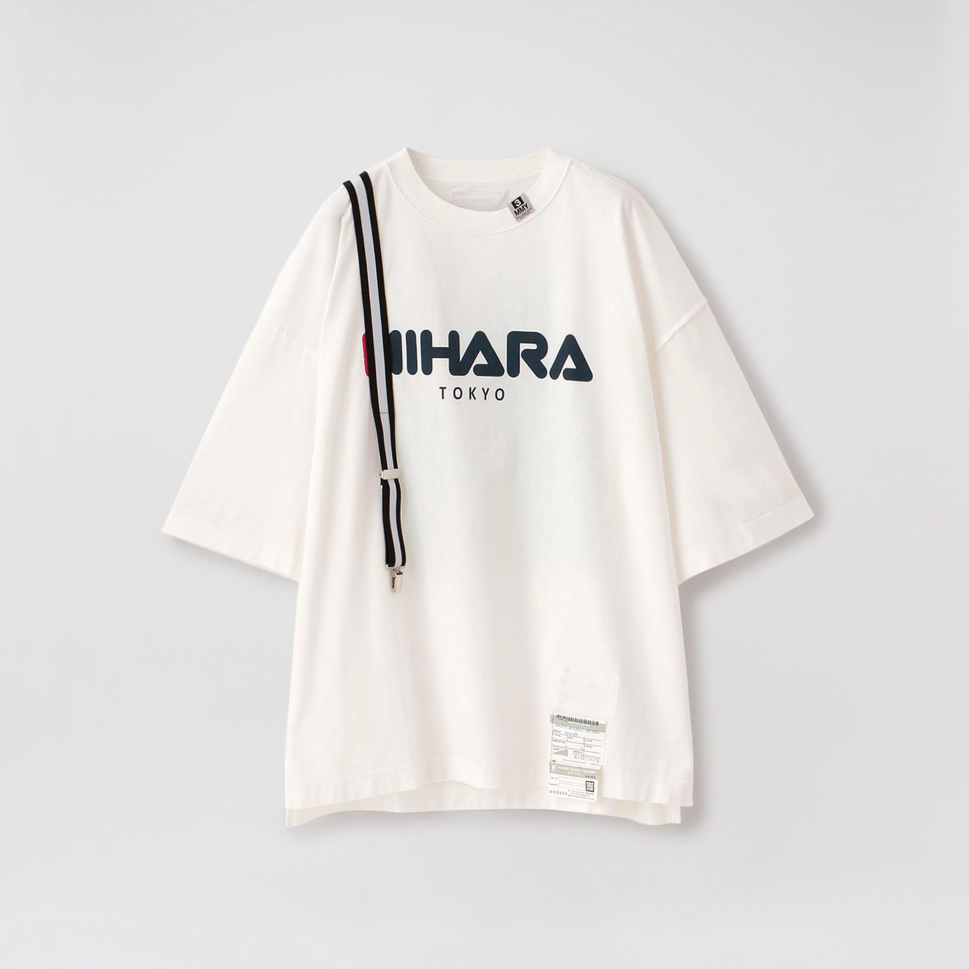 【Maison MIHARA YASUHIRO】MEN Suspender T-shirt A05TS651