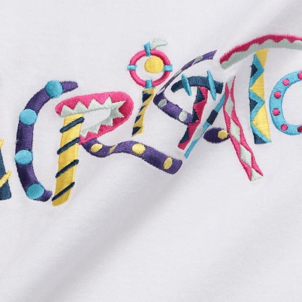 〈タイムセール〉【A(LeFRUDE)E】MEN ありがとう刺繍Tシャツ