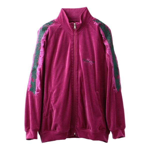 【doublet】LINED CHAOS EMBROIDERY TRACK JACKET 19AW16BL93