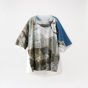 【doublet】MEN FACEOUT TOURIST T-SHIRT 20SS23CS145