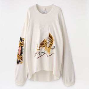 【doublet】MEN BITING EMBROIDERY THERMAL SHIRT 20SS24CS146