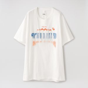 【doublet】MEN Tシャツ THANK YOU FRINGE EMBROIDERY T-SHIRT 20AW36CS166